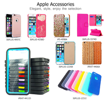 3 in 1 Combined Hard PC and Tempered Glass Design Case for iPhone 6/6S Phone Cases for iPhone 6