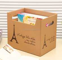 High quality File Storage Carton Paper File Storage Box