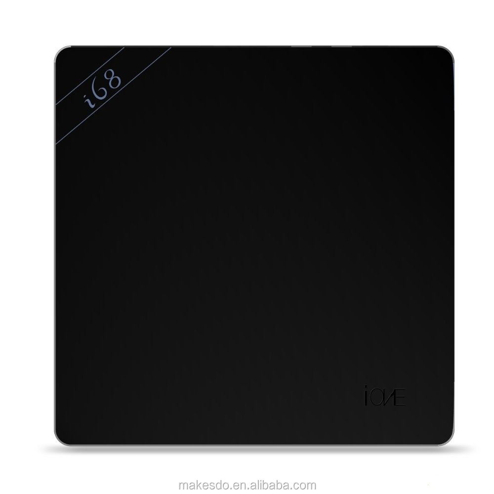 i68 4K XBMC UHD TV Box 64bit RK3368 Octa Core Android 5.1 WiFi 2GB 8GB Black