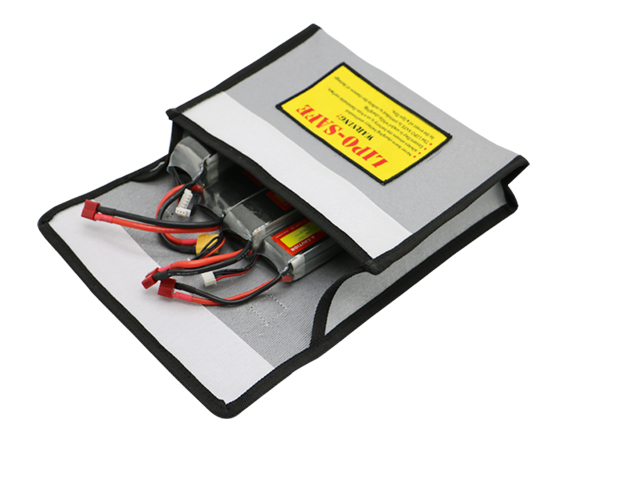 RC drone lipo battery fire bag for battery safe charing and storage
