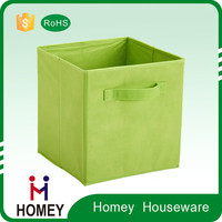 2015 Multifunction Non Woven Foldable eco-friendly folding collapsible storage cube
