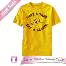 Yellow printed t shirts for men/ mens funny printed t shirt online shopping usa