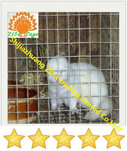 hot dip galvanized steel wire mesh mink farming cage made in chian
