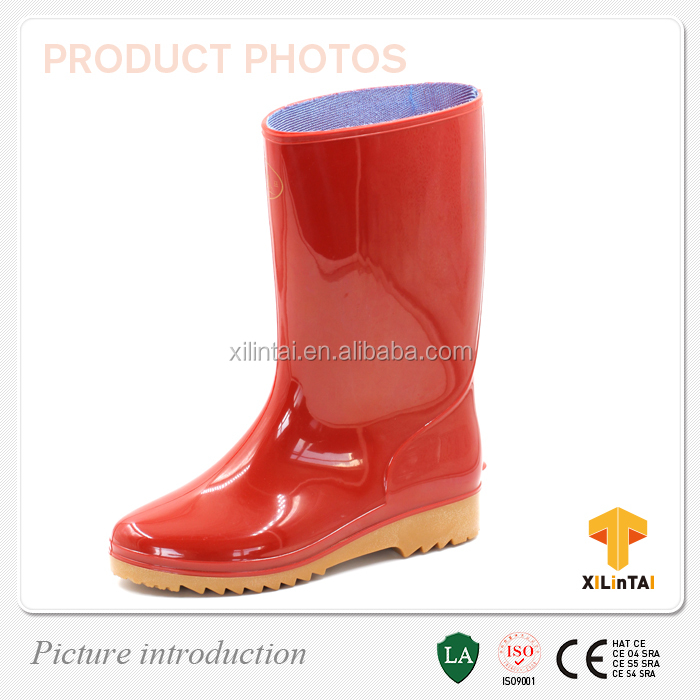 Fashion PVC rain boots women
