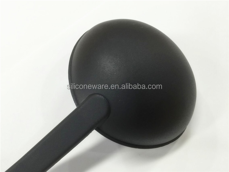 high quality heat resistant nylon Kitchen Utensil Set, Nylon Head Ladle with TPR+S/S handle,