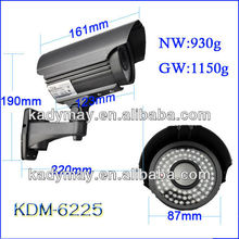 2013 Professional CCTV Camera with Iron Grey Color Cover, Long Range Surveillance Camera with 4-9mm or 2.8-12mm Varifocal Lens