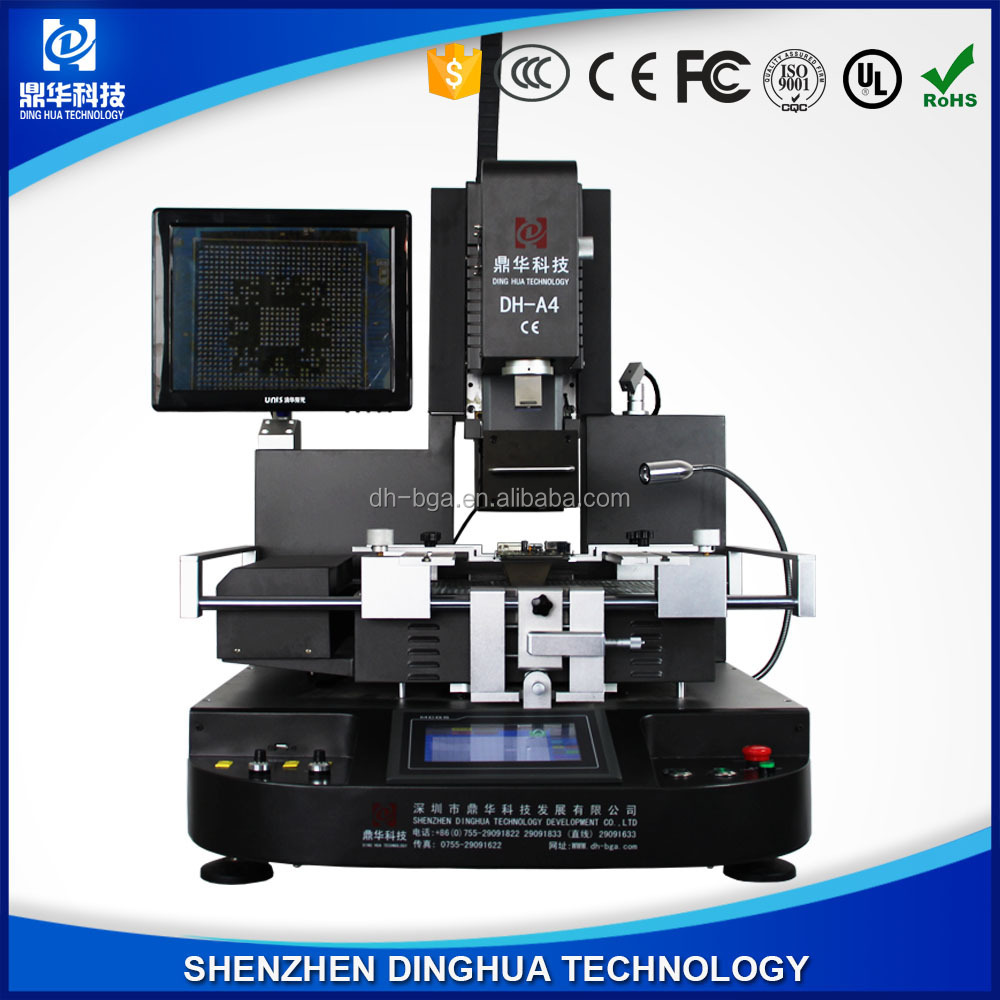 DING HUA DH-A4 fully auto position , soldering, and desoldering +CCD Camera system /bga rework machine for repairing BGA chips