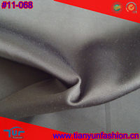 Plain Dyed Grey Software Polyester Rayon Waterproof Suit Fabrics