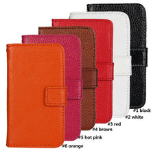 High Qualtiy Genuine Wallet Leather Case For iPhone 4 4S
