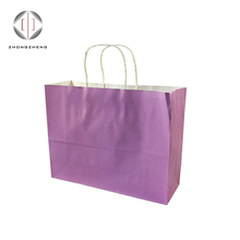 new products promotional pouch plastic coated colorful purse gift packaging paper bag