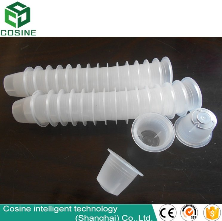 manufacturer for plastic Nespresso Compatible Empty Coffee Capsule