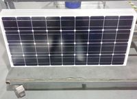 BLUESUN High Efficiency Mono 160 W Solar Panels for home use and inverter