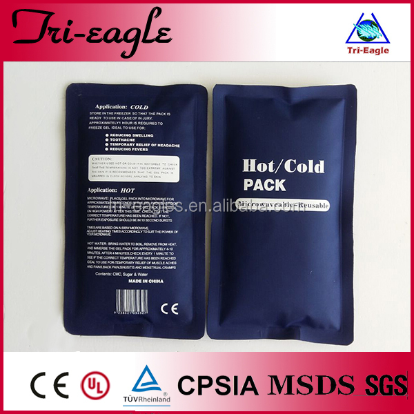 Customized Electric Gel Cold Pack &hot And Cold Pack