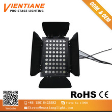 factory price indoor ground row light 3*54 pcs, 4 in1 led stage wall washer light for Tv studio, weeding