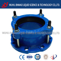 epoxy resin coating coupling for pvc/di pipe