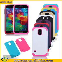 For Sumsang Galaxy S5 Soft PC Silicone shockproof mobile phone case