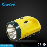 High power long distance rechargeable emergency led searchlight