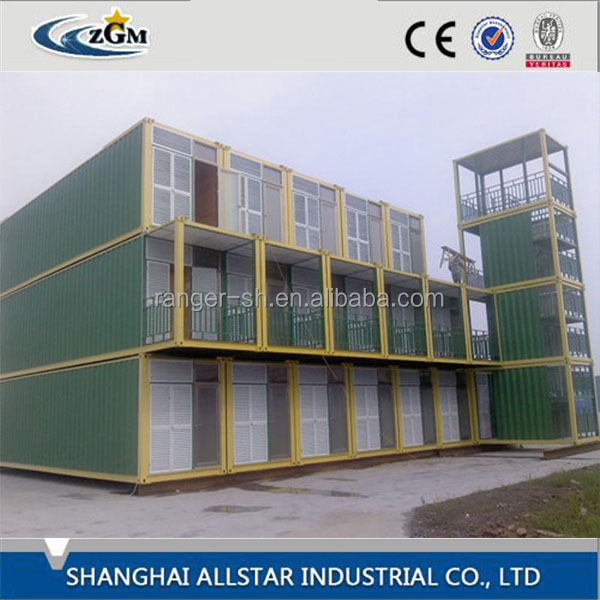 SH CE/ISO certification modern desing shipping container house/40FT high quality sea container living villa