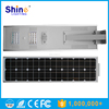 High Quality 30W Integrated Solar LED Garden Light With Motion Sensor