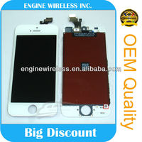the newest touch screen mobile phone cheap for iphone 5 lcd with digitizer