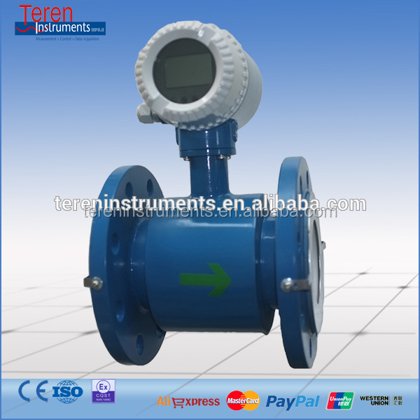 "Cheap Price 1/2"" Dn15 Electromagnetic Flow Meter With 500lph For Industrial"