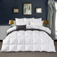 Hotel good quality Goose Down feather Duvet Quilt white duck feather duvet for Luxury Hotel Quilt For King