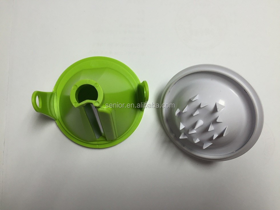 New spiral slicer vegetable spiralizer with S/S blades kitchen slicer