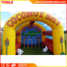 Commercial Inflatable Coconut Shy,inflatable sport game