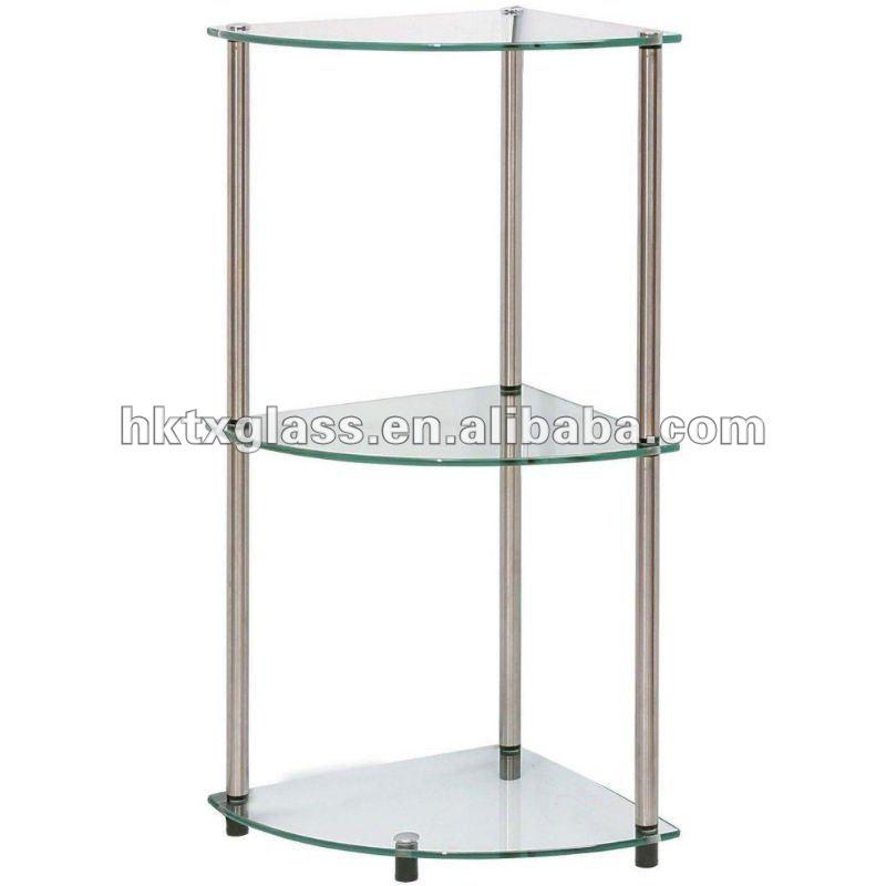 Glass Corner Shelf Tempered Glass Shelf En12150 Buy