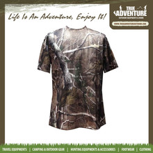 military short sleeve shirt outdoor hunting clothes green woodland t shirt
