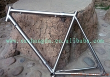 New design!!! titanium road bicycle frame customize coupler road bike frame 700c titanium road bike frame with S&S coupler