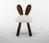 New products Nordic kid's chair Wooden cute various animal stools wholesale