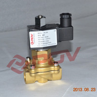 PS-25H brass direct acting normally open 1 inch water valve