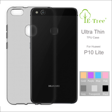 For Huawei p10 lite tpu clear case ultra slim, silicone case back cover for p10 lite case