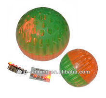 colorful musical LED flashing light ball toy for kids