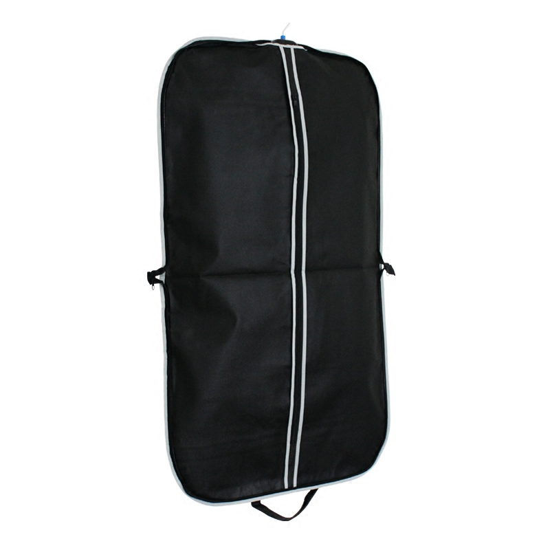 Zip lock nonwoven leather suit cover bag