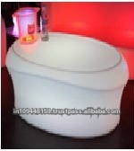 LED Illuminated Furniture/Rechargeable LED Centre Table/Glowing Furniture Lighting