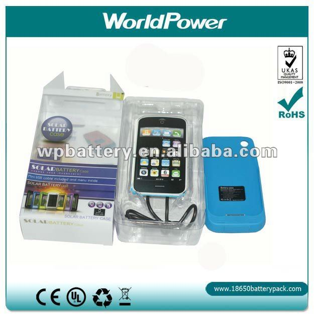 Solar Battery Case For iPhone 4S/ iphone 4