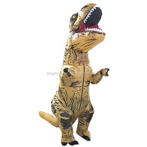 Inflatable outdoor walking realistic dinosaur costume adult life size dinosaur costume