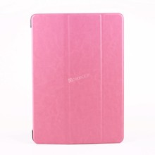 ODM available leather case for ipad air tablet accessories made in China