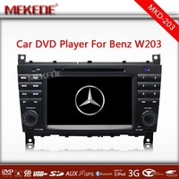 3G /WIFI Special CAR DVD/cassette/audio player for Mercedes Benz C class W203 CLK W209 CLC G Class W467 with full functions