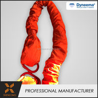 Professional double braided round dyneema lifting sling