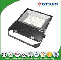 commercial areas floodlight 100W Aluminium body with toughened glass outdoor LED Flood Light in IP65