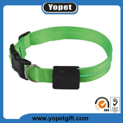 Good Quality LED flashing dog collar and leash