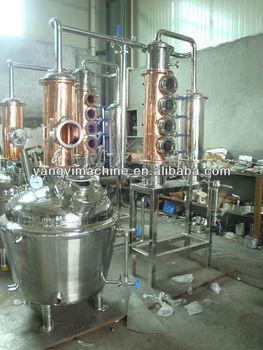 Reflux distillation columns