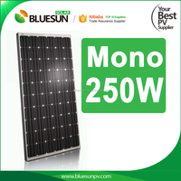 Nice quality best price mono 250w photovoltaic solar panels