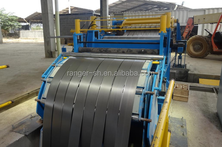 Fully Automatic Steel Used steel Coil Slitting Machine In China