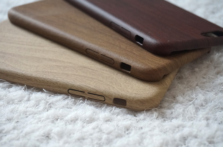 Super thin high quality wood protective phone case with soft tpu material for iphone 6/7 plus for samsung