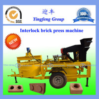 M7M1With large capacity clay soil interlocking brick making machine