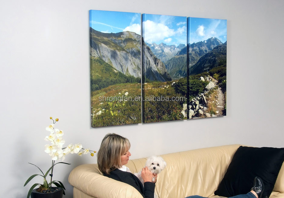 Wholesale and retail artistic touch gallery wrap favorite photo canvas prints